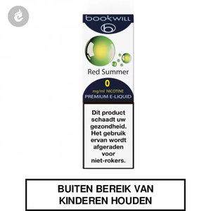 bookwill e-sigaret e-liquid 70pg 30vg red summer 0mg nicotinevrij