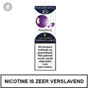 bookwill e-sigaret e-liquid 70pg 30vg raspberry 3mg nicotine