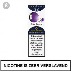 bookwill e-sigaret e-liquid 70pg 30vg raspberry 6mg nicotine