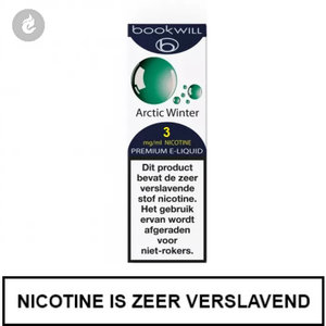 bookwill e-sigaret e-liquid 70pg 30vg arctic winter 3mg nicotine