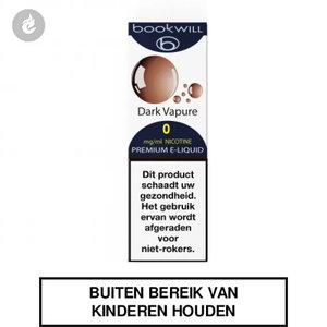 bookwill e-sigaret e-liquid 70pg 30vg dark vapure 0mg nicotinevrij