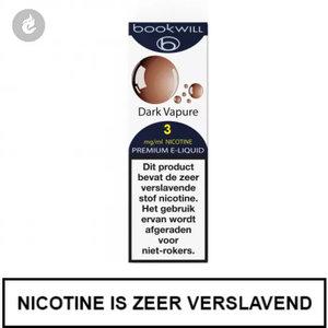 bookwill e-sigaret e-liquid 70pg 30vg dark vapure 3mg nicotine