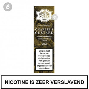 charlie noble e-liquid charlies custard 12mg nicotine