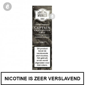 charlie noble e-liquid captain charleston gray 6mg nicotine