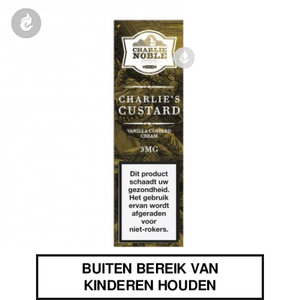charlie noble e-liquid charlies custard 0mg nicotinevrij