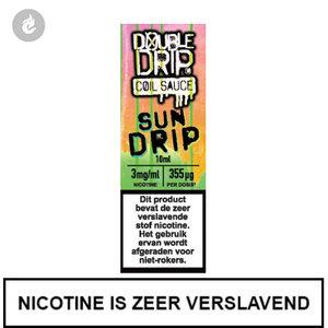 double drip coil sauce e-liquids 10ml sun drip 3mg nicotine