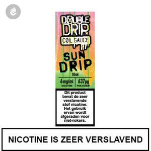 double drip coil sauce e-liquids 10ml sun drip 6mg nicotine