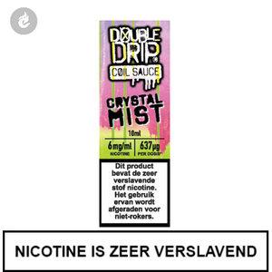 double drip coil sauce e-liquids 10ml crystal mist 6mg nicotine
