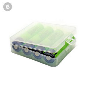 18650 batterij doosje 4 batterijen