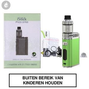 eleaf istick pico 21700 e-sigaret kit 100watt groen