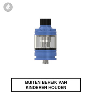 eleaf melo 4 clearomizer tank 2ml airflow topfill blauw
