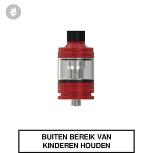 eleaf melo 4 clearomizer tank 2ml airflow topfill rood