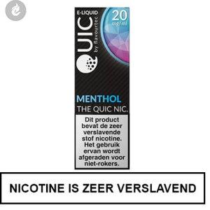 quic nic salts e-liquid 50pg 50vg menthol 20mg