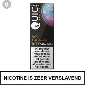quic nic salts e-liquid 50pg 50vg ry4 tobacco 20mg