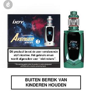 ijoy avenger 270 e-sigaret kit voice control 234watt 2ml mirror green groen