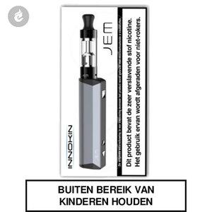 innokin jem e-sigaret e-smoker starterskit 1000mah 2ml grijs