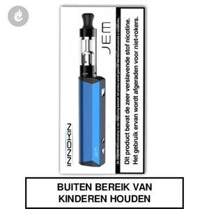 innokin jem e-sigaret e-smoker starterskit 1000mah 2ml blauw