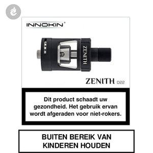 innokin zenith d22 mtl clearomizer tank 2ml zwart