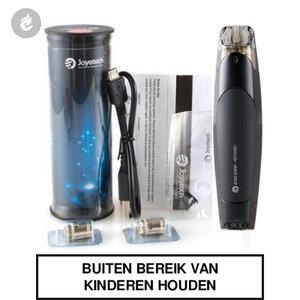 joyetech exceed edge e-sigaret pods e-smoker 2ml zwart