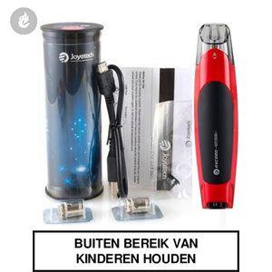 joyetech exceed edge e-sigaret pods e-smoker 2ml rood