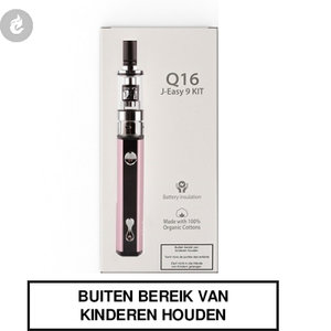 justfog q16c e-sigaret starterskit 900mah 2ml roze