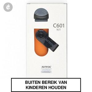 justfog c601 e-sigaret e-smoker pods starterskit 650mah 1.7ml oranje