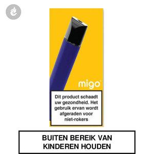 migo pod e-sigaret nic salt nicotinezout starterskit blauw
