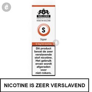 millers e-liquid silverline sigaar 12mg nicotine