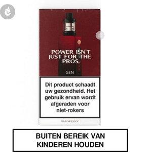 vaporesso gen e-sigaret starterkit 220watt 2ml rood.jpg