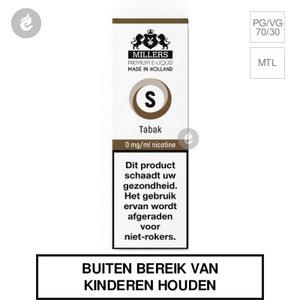 millers e-liquid silverline tabak nicotinevrij