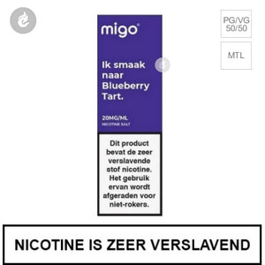 migo e-liquid nic salt nicotinezout 20mg blueberry tart 10ml.jpg