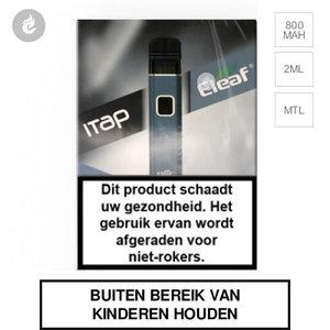 eleaf itap e-sigaret e-smoker pod starterkit 800mah 2ml blauw.jpg