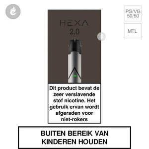 hexa 2.0 pods e-sigaret kit nic salts zilver.jpg