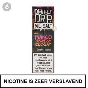 double drip nic salts nicotinezout e-liquids 10ml mango raspberry ice cream 10mg nicotine.jpg