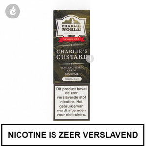 charlie noble nic salt nicotinezout e-liquid 10ml 10mg charlie's custard.jpg