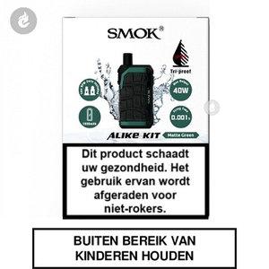 smok alike pod e-sigaret e-smoker vaper 2ml 40watt 1600mah matte green groen.jpg