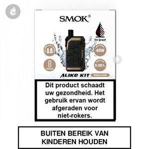 smok alike pod e-sigaret e-smoker vaper 2ml 40watt 1600mah matte gold.jpg
