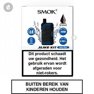 smok alike pod e-sigaret e-smoker vaper 2ml 40watt 1600mah matte blue blauw.jpg