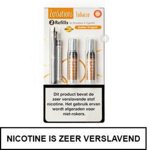 zensations e-sigaret e-smoker refills navullingen 50pg 50vg tobacco tabak 18mg nicotine.jpg