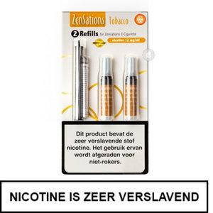 zensations e-sigaret e-smoker refills navullingen 50pg 50vg tobacco tabak 12mg nicotine.jpg