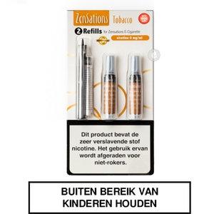 zensations e-sigaret e-smoker refills navullingen 50pg 50vg tobacco tabak 0mg nicotine.jpg