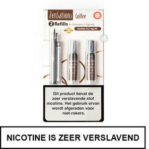 zensations e-sigaret e-smoker refills navullingen 50pg 50vg coffee koffie 8.2mg nicotine.jpg