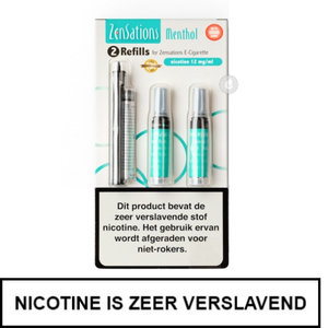 zensations e-sigaret e-smoker refills navullingen 50pg 50vg menthol mint 12mg nicotine.jpg