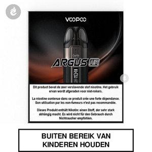 voopoo argus air pod e-sigaret e-smoker 900mah 25watt 2ml classic black zwart.jpg