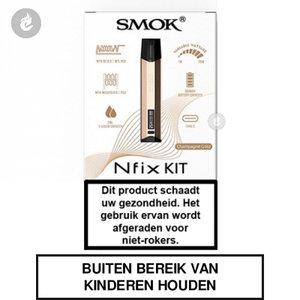 smok nfix pod e-sigaret e-smoker starterskit 25watt 2ml champagne gold.jpg