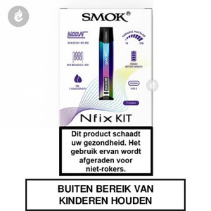 smok nfix pod e-sigaret e-smoker starterskit 25watt 2ml 7-color.jpg