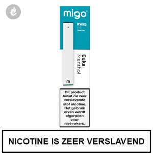 MIGO Kwiq e-sigaret disposable wegwerp shishapen euka menthol 10mg.jpg