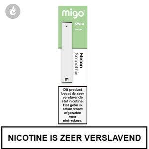MIGO Kwiq e-sigaret disposable wegwerp shishapen melon smoothie 10mg.jpg