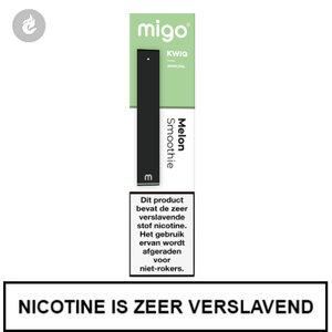 MIGO Kwiq e-sigaret disposable wegwerp shishapen melon smoothie 20mg.jpg
