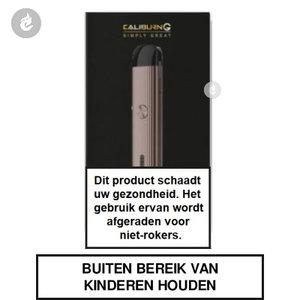 uwell caliburn g pod e-sigaret e-smoker vaper starterkit 2ml 690mah rose goud.jpg